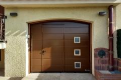 Portes garage Aluminium